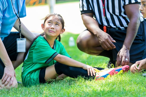 More than half of all sports injuries in children are preventable, according to the Centers for Disease Control.