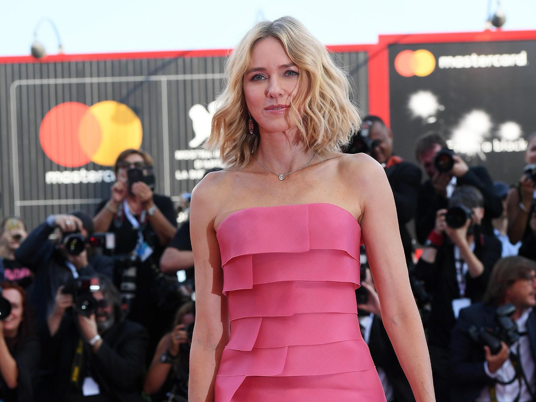epa06982148 Member of the 'Venezia 75' jury Australian actress Naomi Watts arrives for the opening ceremony and screening of 'First Man' at the 75th annual Venice International Film Festival, in Venice, Italy, 29 August 2018. The festival runs from 29 August to 08 September.  EPA-EFE/CLAUDIO ONORATI