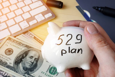 529 plan College Savings Plan concept.