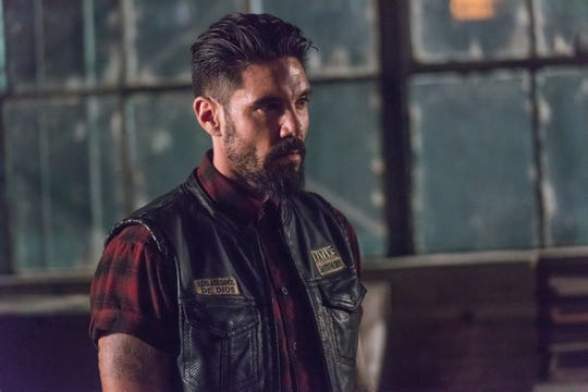 Clayton Cardenas plays Angel Reyes, the brother of EZ Reyes and a motorcycle club member in FX's 'Mayans M.C.'