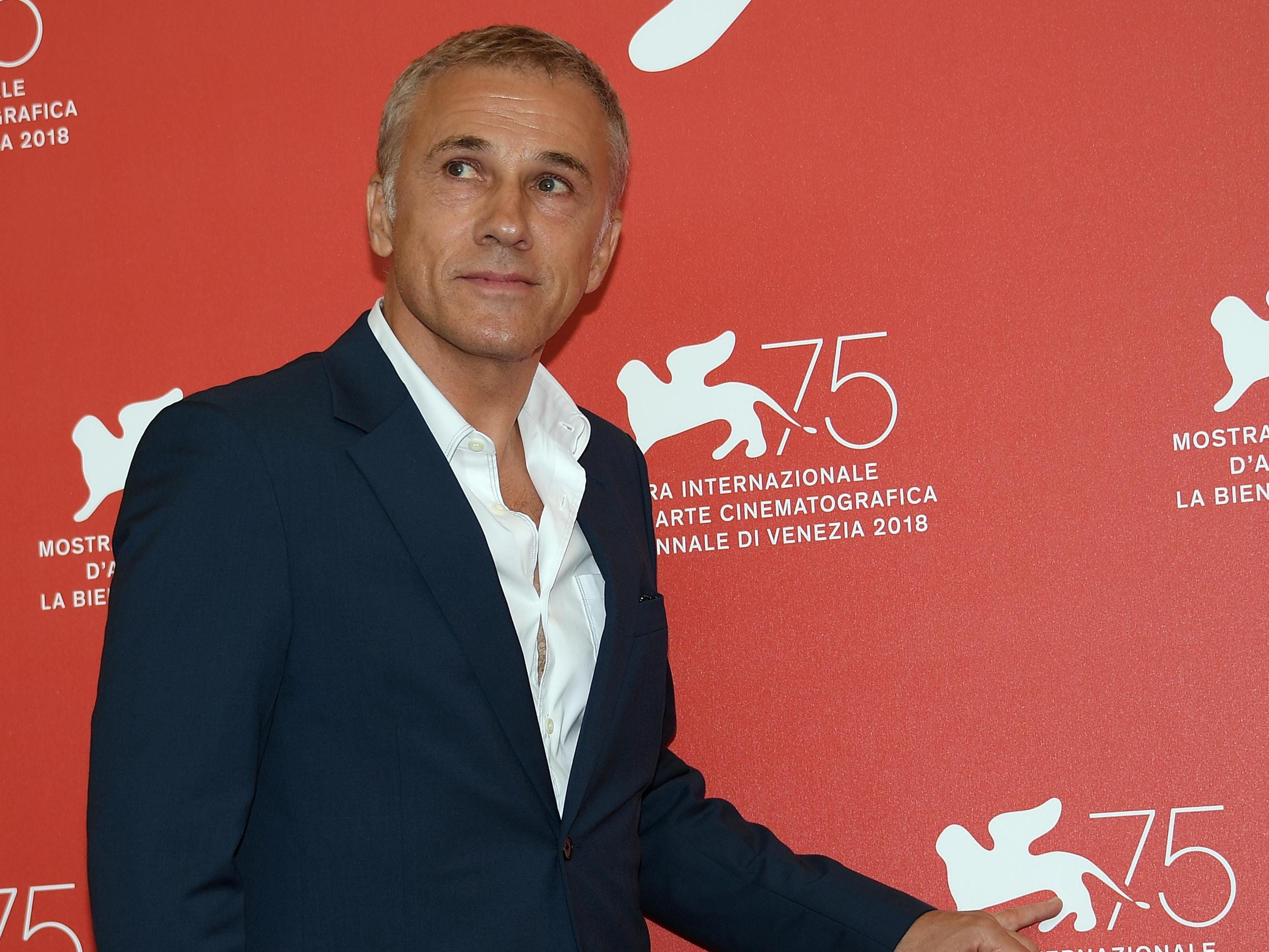 epa06981041 Member of the 'Venezia 75' jury Austrian actor Christoph Waltz poses during a photocall at the 75th annual Venice International Film Festival, in Venice, Italy, 29 August 2018. The festival runs from 29 August to 08 September 2018.  EPA-EFE/CLAUDIO ONORATI