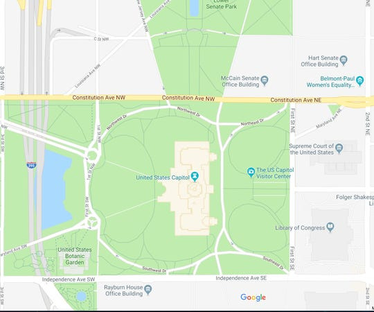 In the wake of Sen. John McCain's death, some proposed that the Russell Office Building be renamed after the late Arizona senator and Vietnam War veteran. It's already been changed on Google Maps.