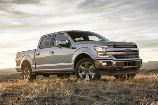 This undated photo provided by Ford Motor Co. shows the 2018 Ford F-150 SuperCrew pickup. Labor Day shoppers in the Chicago area will find savings up to $12,000 off sticker, depending on the trim level. (Courtesy of Ford Motor Co. via AP)