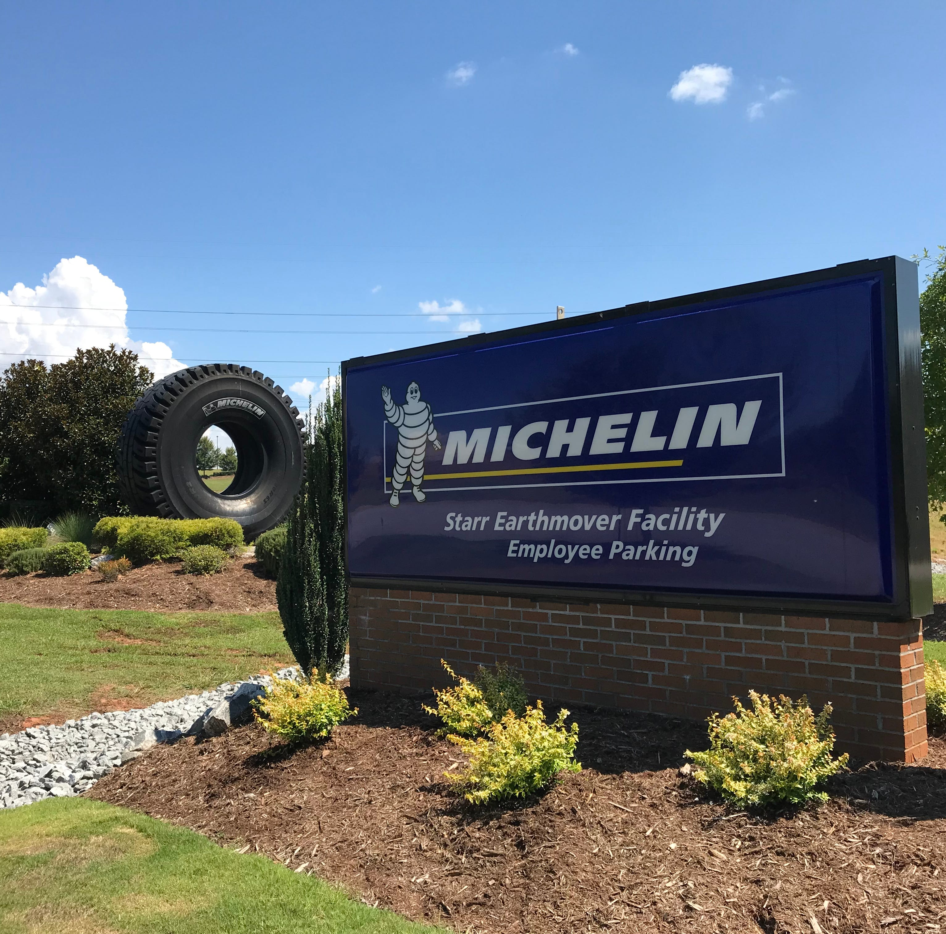 Michelin exec hints that reawakened Anderson County tire plant could expand