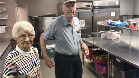 Rosa and Horace Grant have been running the SOUP Program at Pendleton First Baptist Church for the past 10 years.