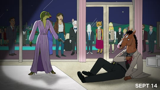 """BoJack Horseman"" returns to Netflix for its fifth season on Sept. 14."