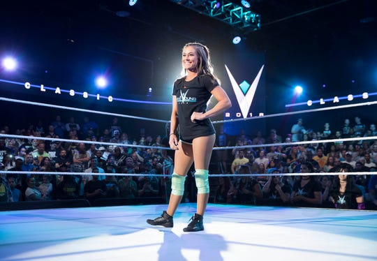 Kacey Catanzaro, who grew up in Belleville, is among the competitors for this year's WWE Mae Young Classic.