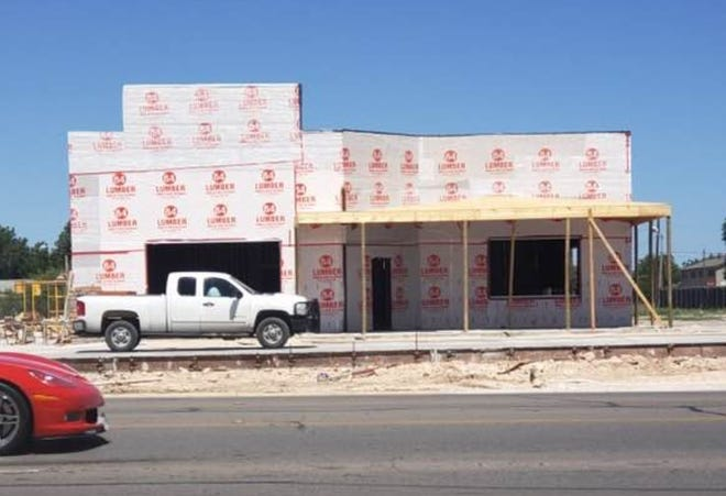 A Heff's Burgers is under construction in San Angelo in August 2018.