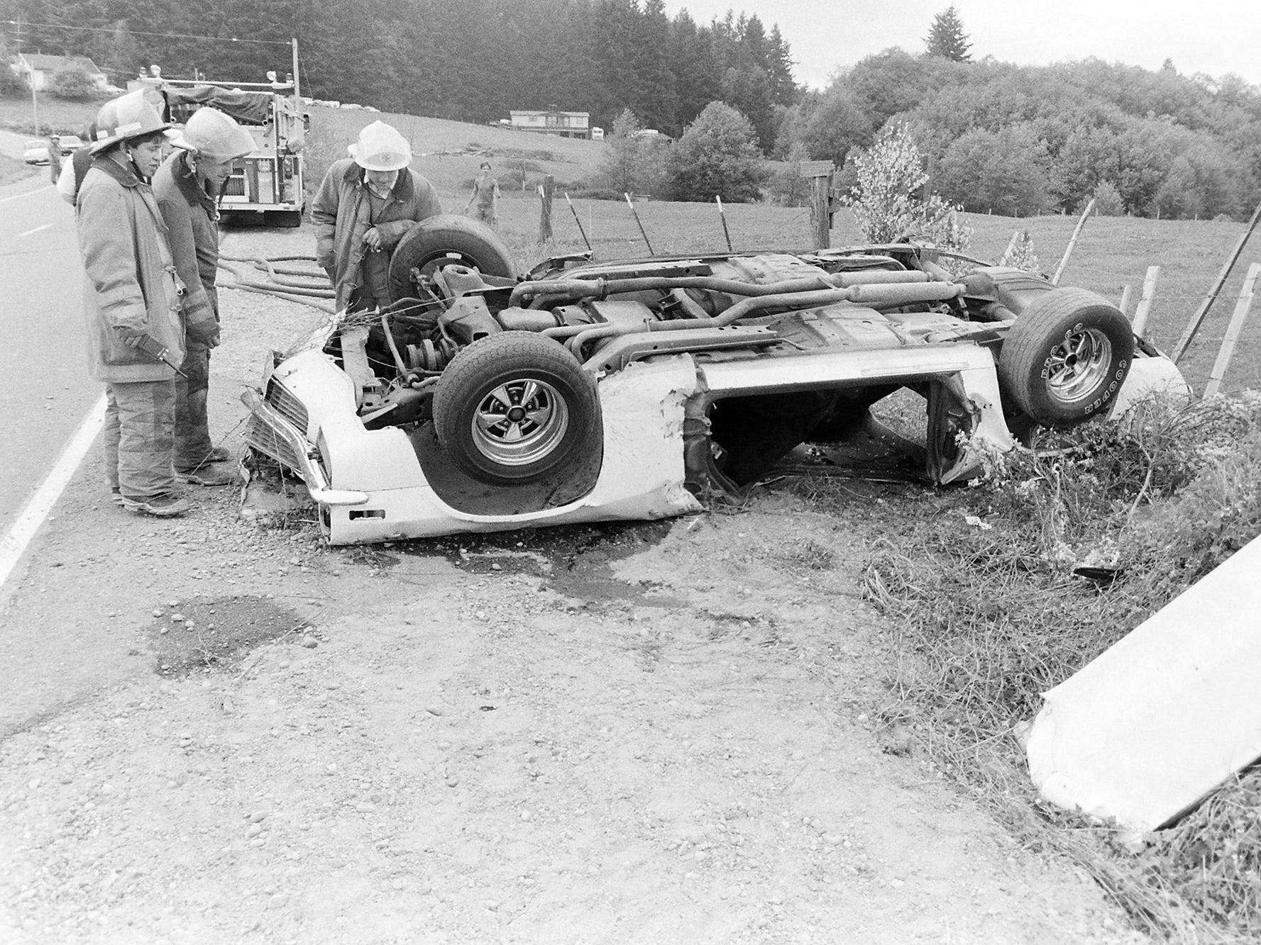 05/26/88Drag Racing Rollover