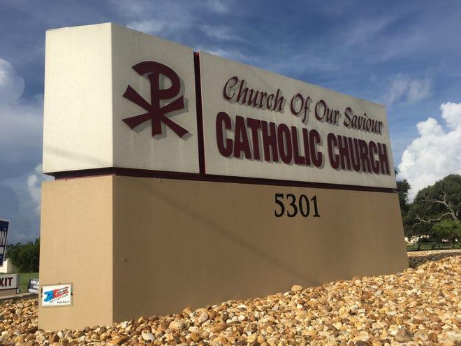 This is Church of Our Saviour Catholic Church in Cocoa Beach.