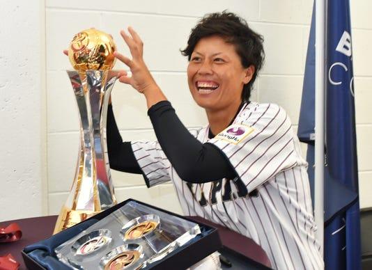 Women S World Baseball World Cupo Press Conference