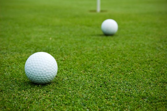The rules of golf set out specific guidelines about what happens if two balls collide on the greens.