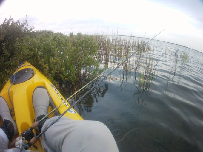 The Coastal Bend's mangrove-fringed shorelines and spoils are ideal for kayak fishing.