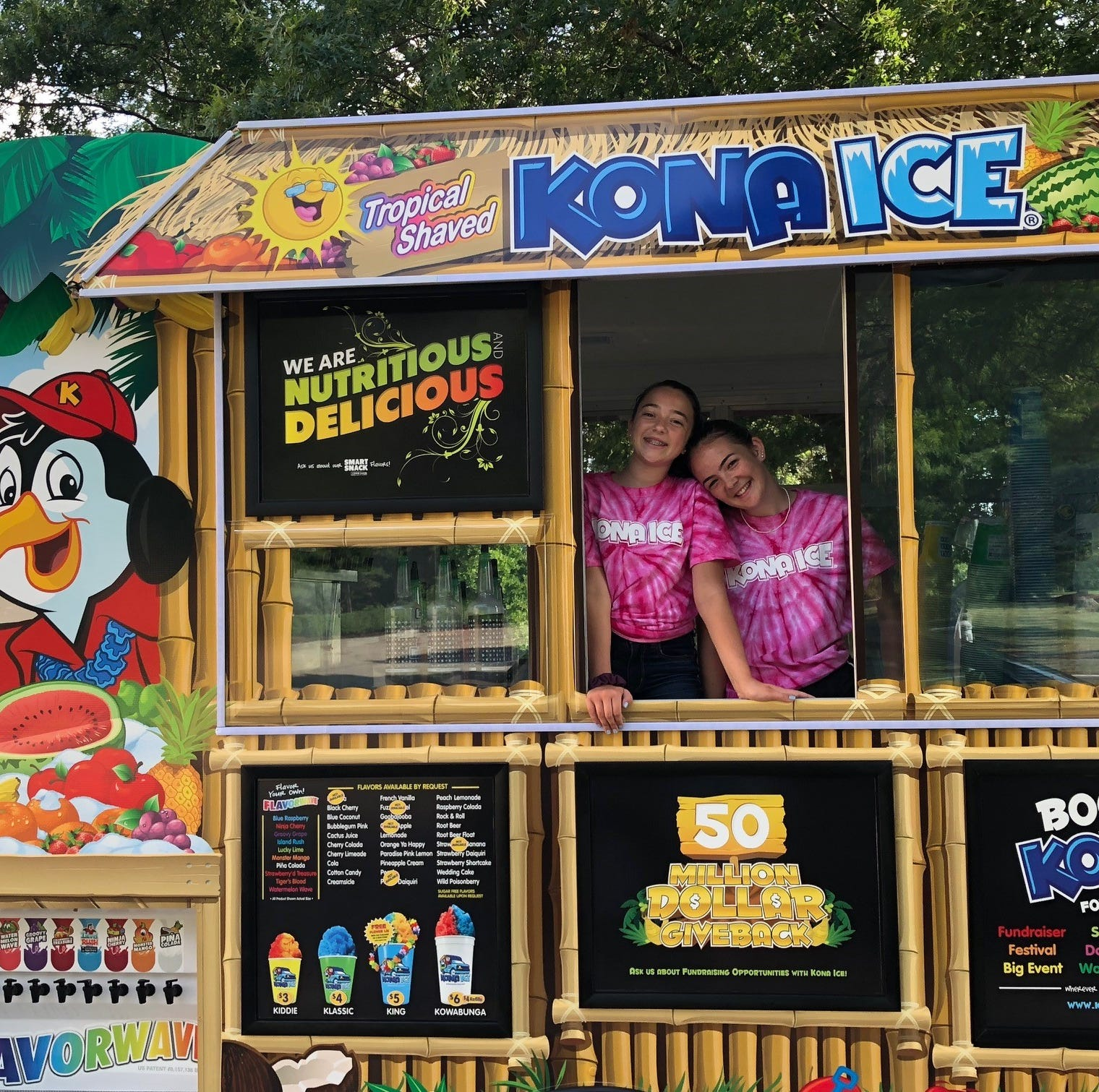 Whole family on board with launch of Kona Ice truck in Haddonfield