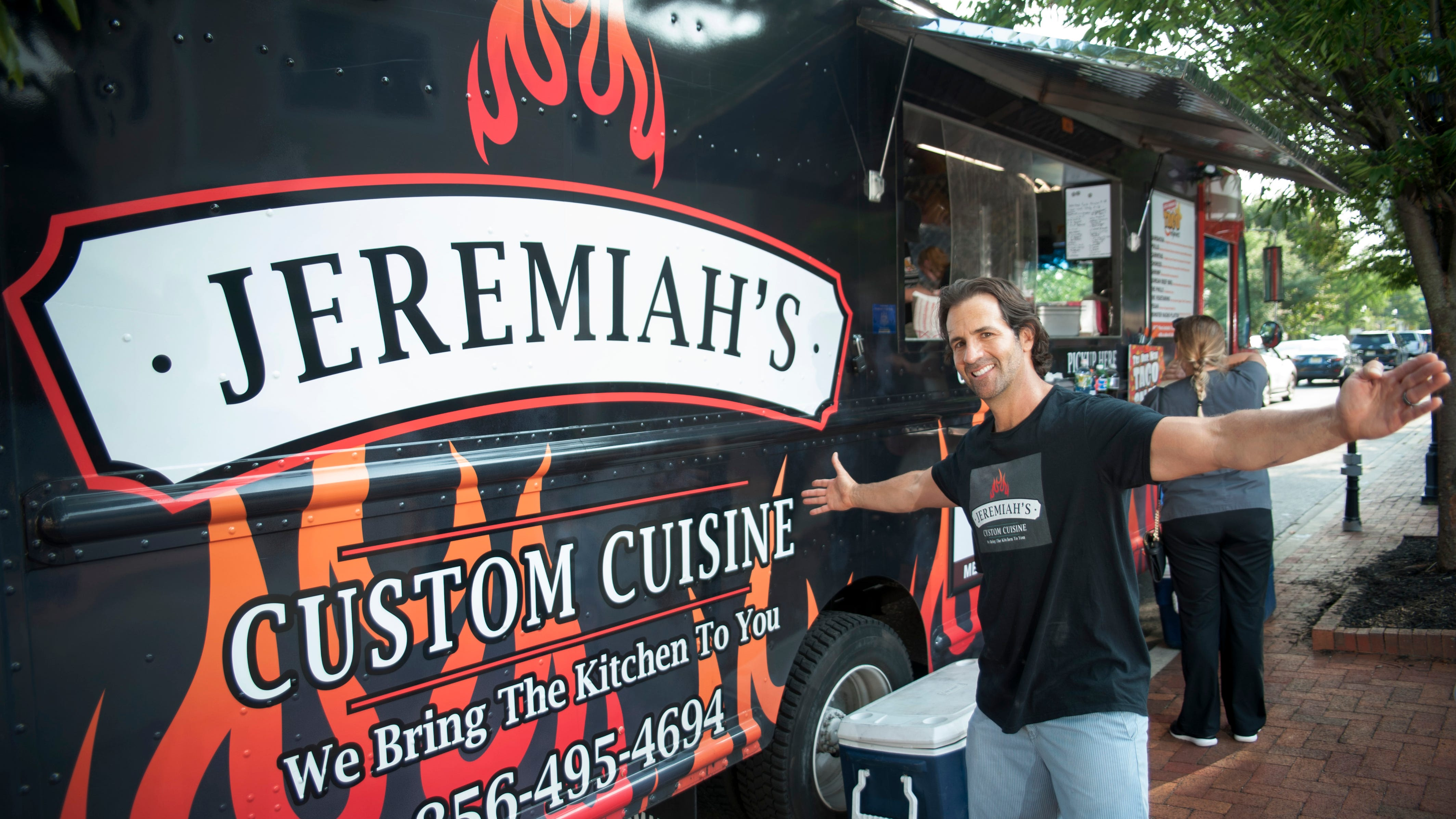 Jeremiah Bodner's food truck is a chameleon, offering four different cuisines as well as catering, to satisfy taco, cheesesteak, sliders and other cravings.