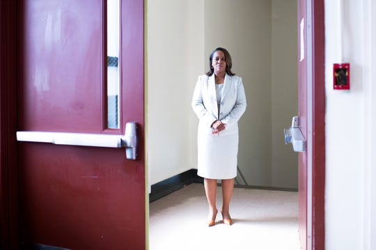Katrina McCombs, who had served as the interim Camden Schools superintendent, was formally named to the position on Wednesday.