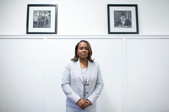 Katrina McCombs, the new interim Camden Schools superintendent is a city native and Camden High graduate.