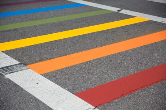 Otr Gets A Rainbow Crosswalk At 12th And Vine Street