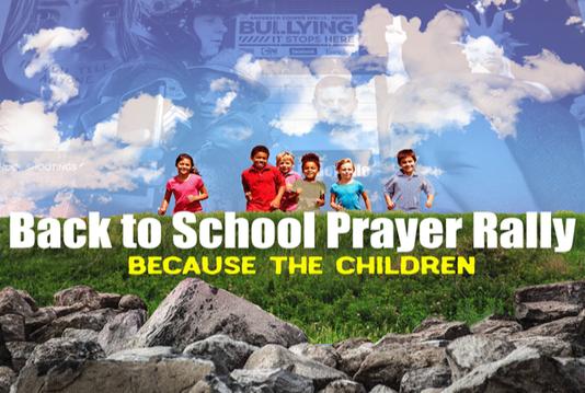 Back To School Prayer Rally