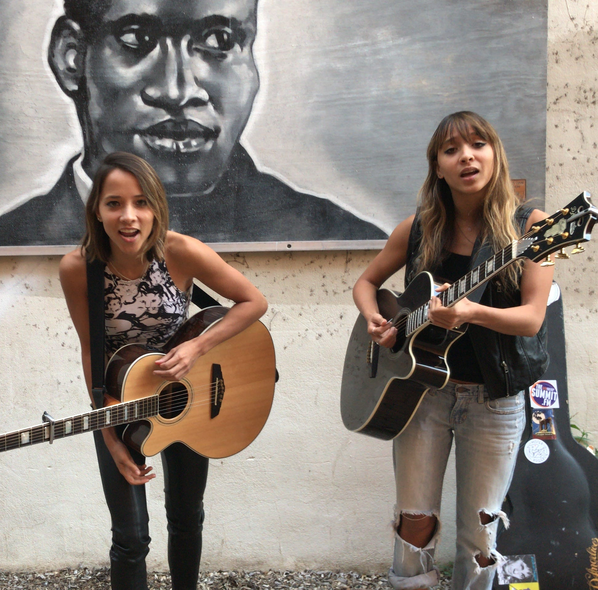 Hunterdon's Nalani & Sarina rock New Brunswick and the world