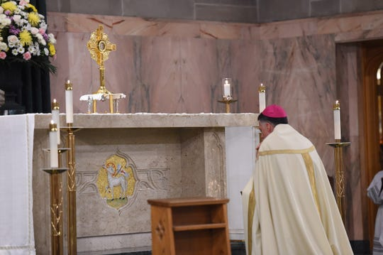 In a service aimed at healing, truth and hope, Bishop James F. Checchiolaid bare his own thoughts and feelings concerning the revelations of clergy sexual abuse that have rocked the Roman Catholic Church. On Wednesday evening, the Diocese of Metuchen held aEucharistic Holy Hour at the Cathedral of St. Francis of Assisi to pray for victims of clergy sexual abuse.