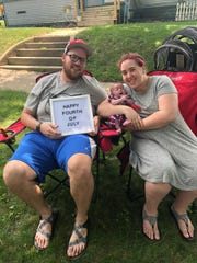 New parents Nicole and Andy Knapp have rarely been allowed to travel home with Kaeli, who was born in May with a rare congenital heart defect.