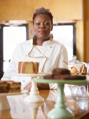 April Anderson, founder of Good Cakes & Bakes in Detroit.