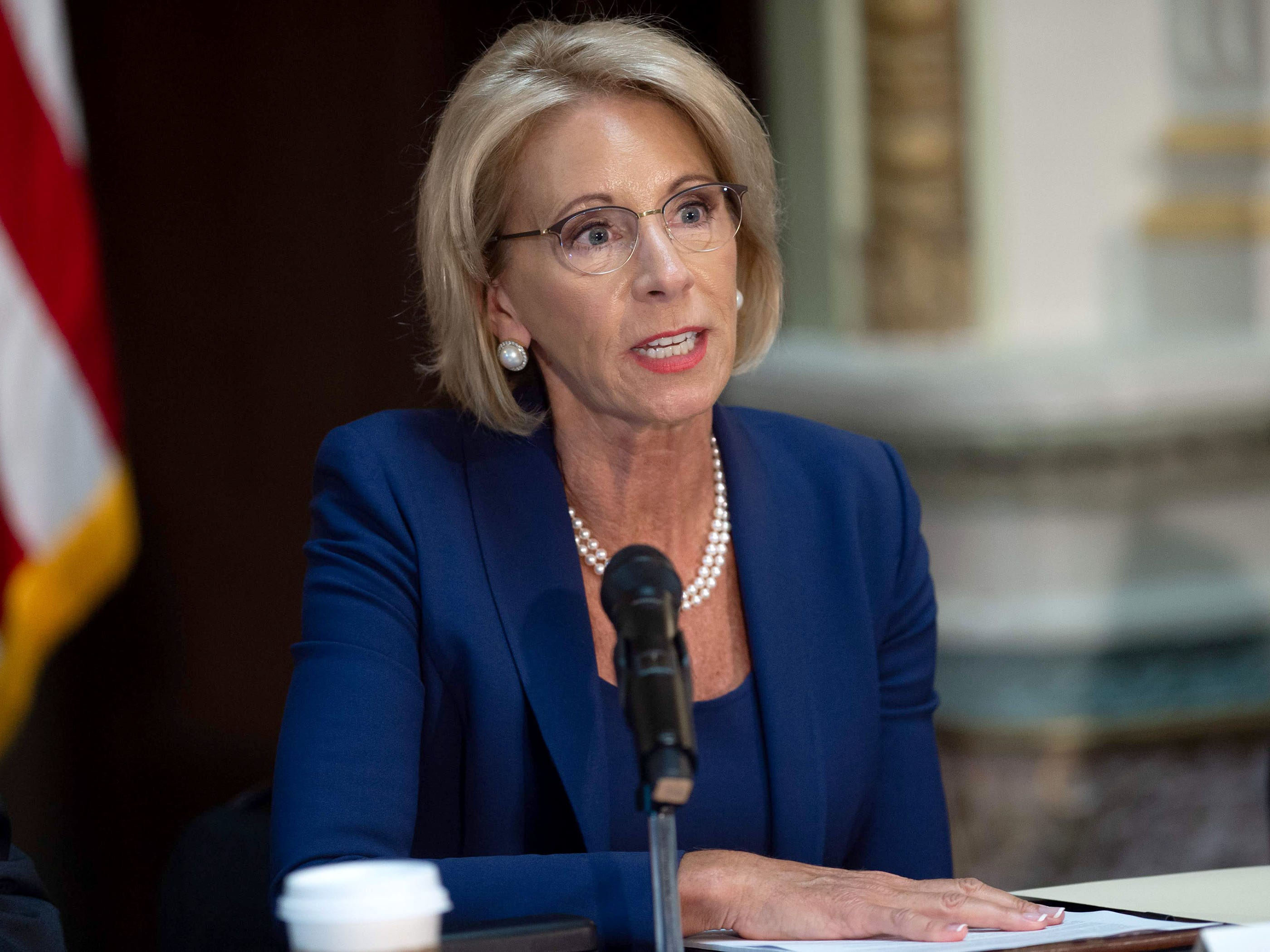 DeVos overhaul of sexual assault rules governing campuses draws fire