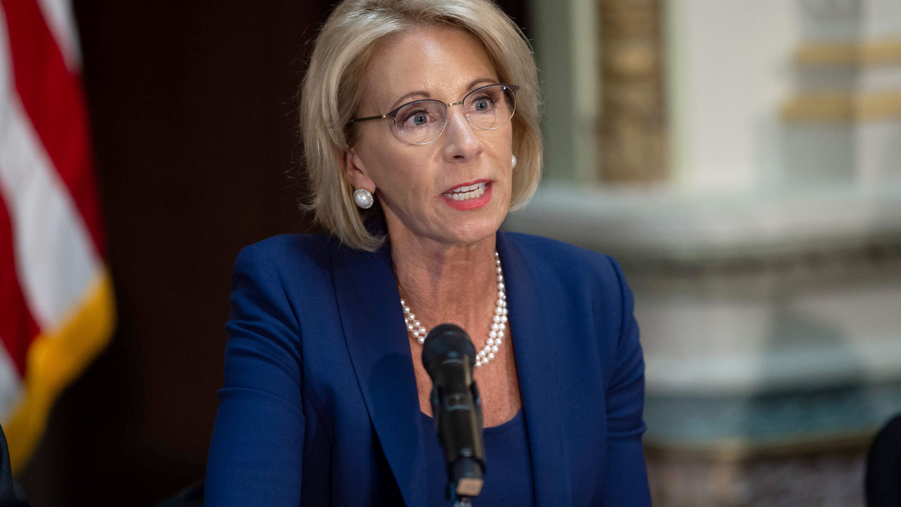 Betsy Devos Wont Be Doing Too Much As >> Betsy Devos It Is Inappropriate To Talk To Nassar Survivors