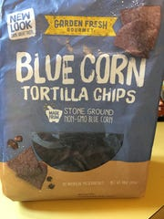 Blue Corn Tortilla Chips from Garden Fresh Gourmet