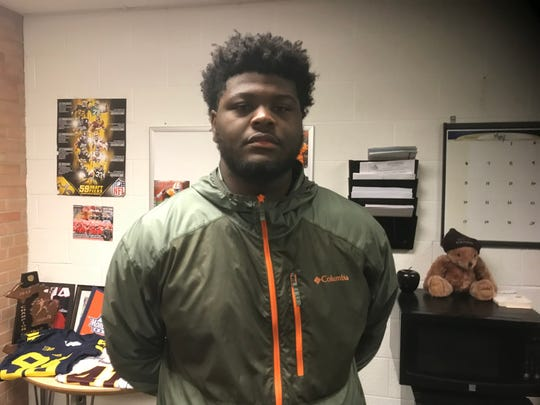 Oak Park OL Justin Rogers is the state's top 2020 recruit.