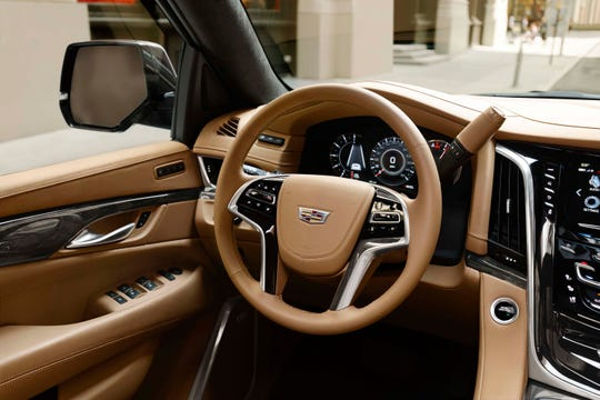 The Cadillac Escalade has interior amenities that would make a New York penthouse proud.
