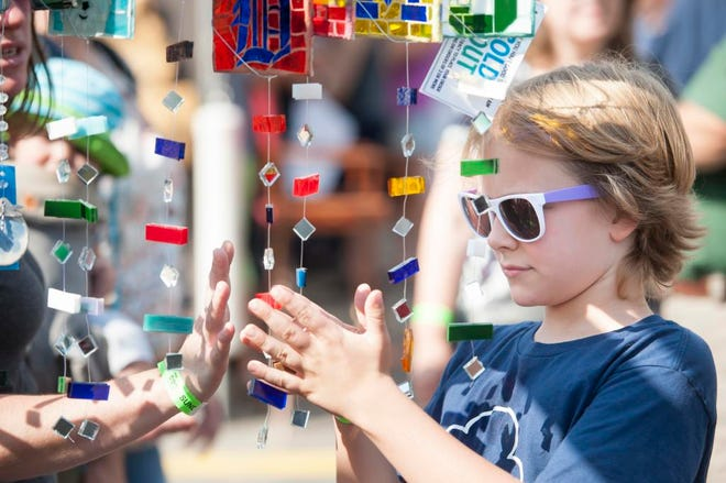 Keeping kids entertained is a priority at this year's festival.
