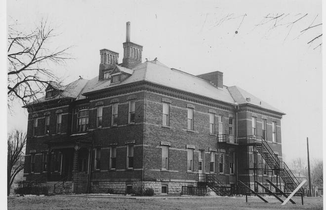 Built in 1887, this school became know for its first principal.