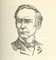 "Sketch of William H. Gibson, from ""Howes Historical Collections of Ohio Volume II"" by Henry Howe, LL.D."
