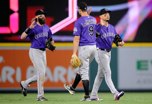 Mlb Colorado Rockies At Los Angeles Angels #filephoto