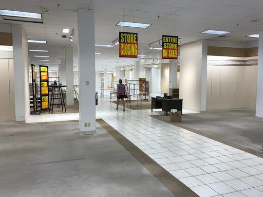 Herberger's was virtually empty last week.
