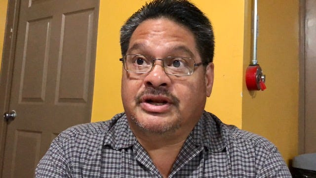 """Ignacio """"Ike"""" P. Pereda says he will continue to volunteer as an election tabulator. He started in 1996. Prior to that, he was a volunteer precinct officer."""