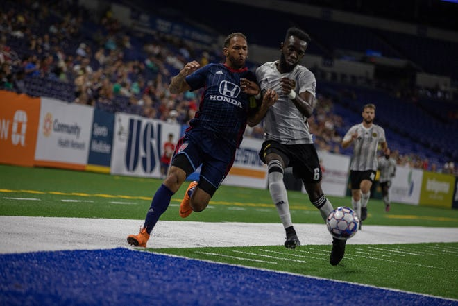 The Indy Eleven battle Pittsburgh in USL action on Aug. 29, 2018.