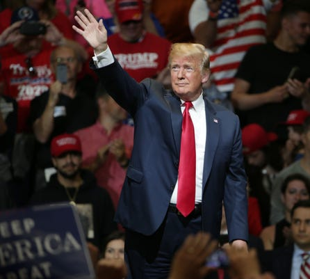 Donald Trump And Mike Pence Rally At North Side Gymnasium Elkhart