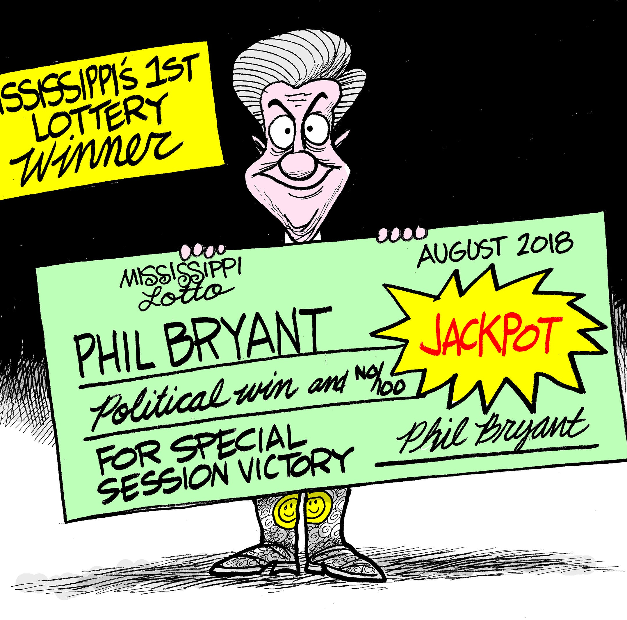 Mississippi's new lottery will help save the state budget