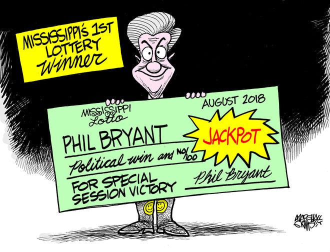 The first lottery winner!
