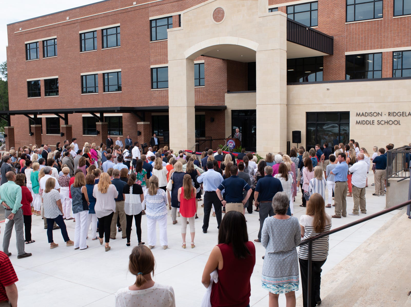 Faculty, friends alumnus and patrons gathered for the ceremony.