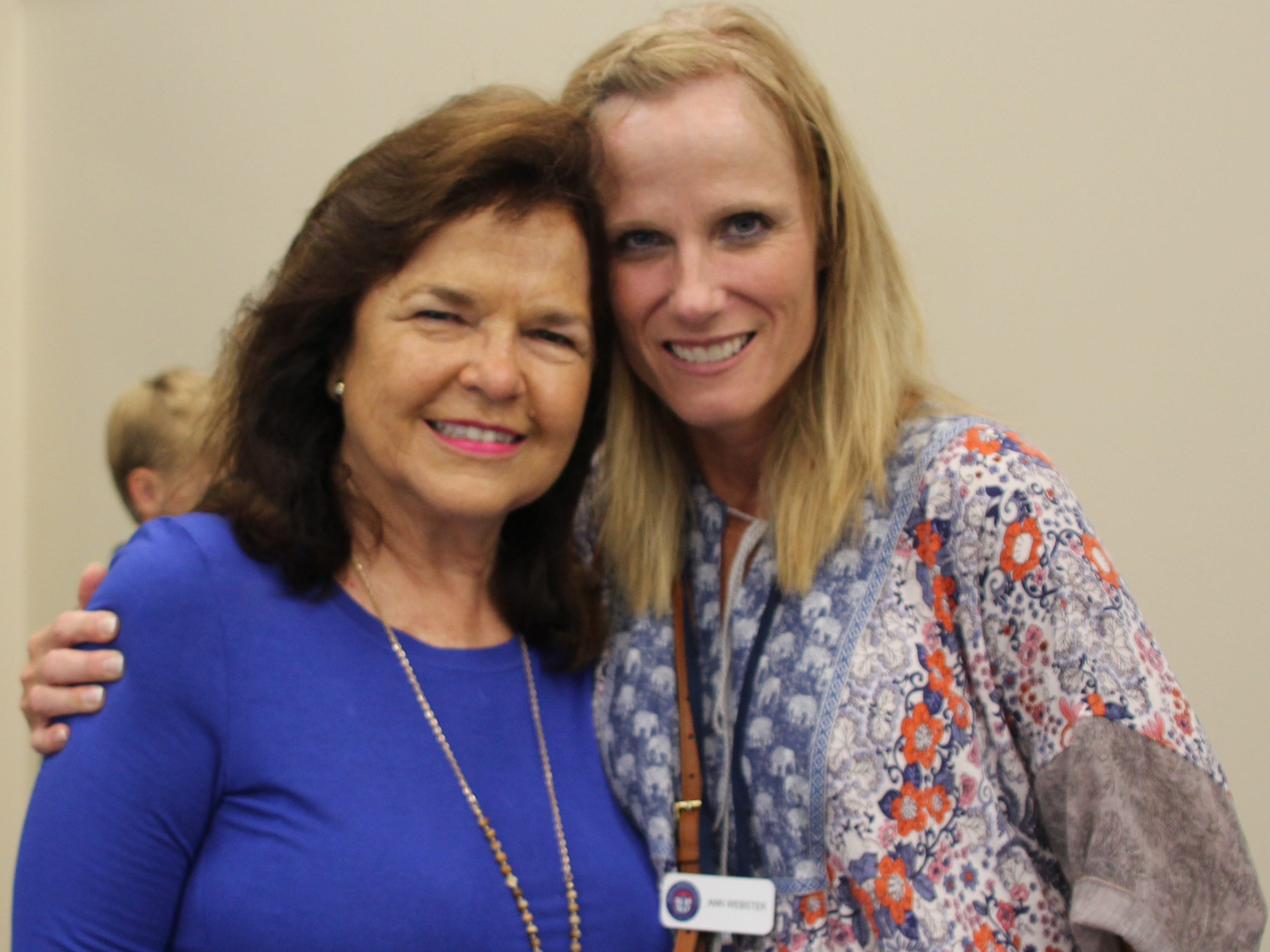 Madison Alderman and former MRA Principal Pat Peeler and faculty member Ann Webster joined the excitement of the day.