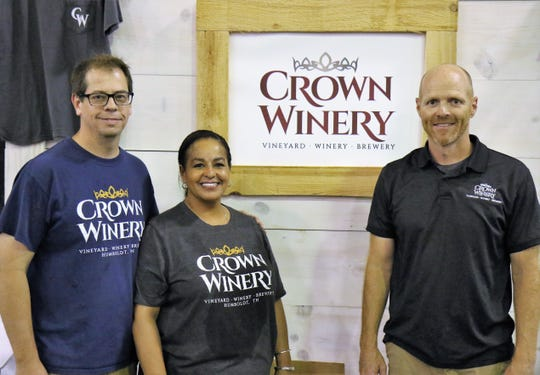 Local wineries, Century Farm Winery of Jackson and the Crown Winery of Humboldt, gave attendees a preview of their products during the annual Toast of Jackson July 28, 2018, at Jackson Fairgrounds Park in Downtown Jackson.