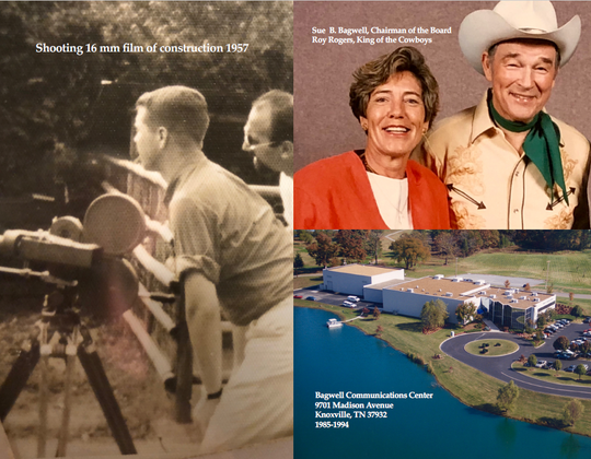 Bagwell Sr. and the Bagwell family helped develop Knoxville's media industry from the mid-1950s until today.