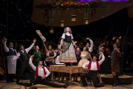 """Actress Heidi Kettenring plays the Old Lady in """"Candide"""" at UT's Clarence Brown Theatre."""