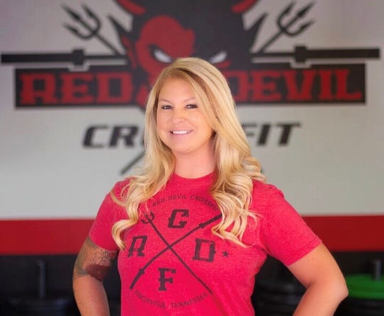 Laurie Hensley is a Halls High alumna and lives in the community. Hensley realized there was not an existing CrossFit in Halls and knew that's where she needed to open her business.