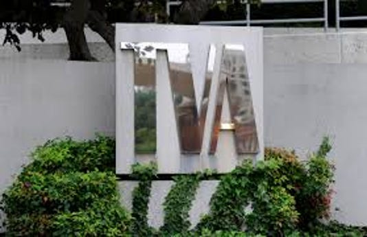 TVA Sign Knoxville Headquarters