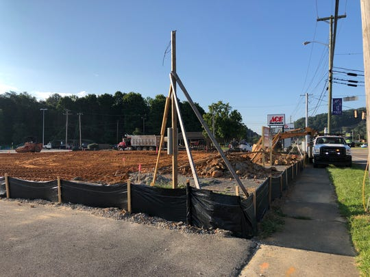 Arby's is said to be coming to the Halls Center, in front of Ace Hardware on Maynardville Highway. Construction is well underway, with a projected opening date of Nov. 12, 2018.